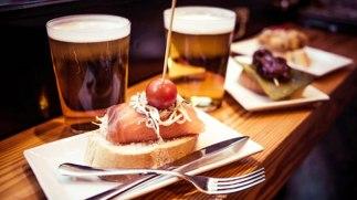 Aperitivo im Cafe Stadtcafe Landeck