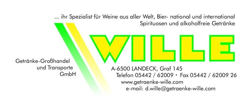 Wir sind stolz darauf, Getränke Wille zu unserem ausgezeichneten Getränke-Lieferanten zählen zu dürfen. Ganz dem Motto: Wo ein Wille, da ein Getränk – http://www.getraenke-wille.com Tel. 05442 / 62 009