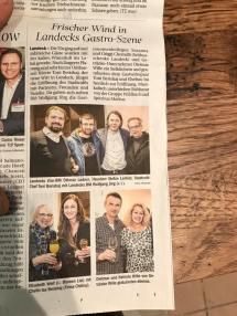 Tiroler Tageszeitung über Cafe Landeck