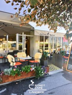 Frühstücken und Brunchen - Stadtcafe Landeck - Cafe & Restaurant. 6500 Landeck Tirol, Malserstr. 49