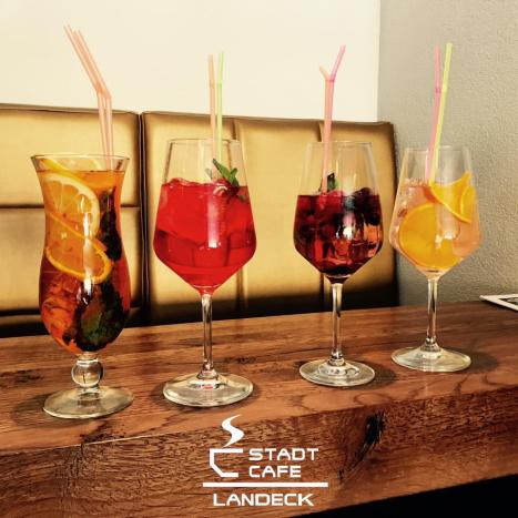 Cocktails Drinks - Stadtcafe Landeck - Cafe Restaurant Bar in 6500 Landeck Tirol, Malserstr. 49