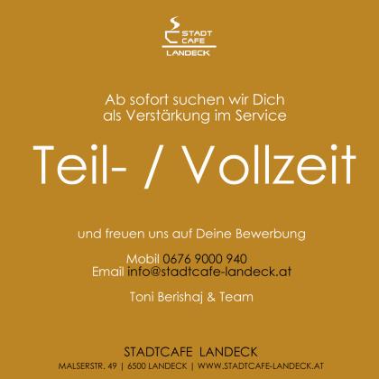 Stadtcafe Landeck Job-Angebot