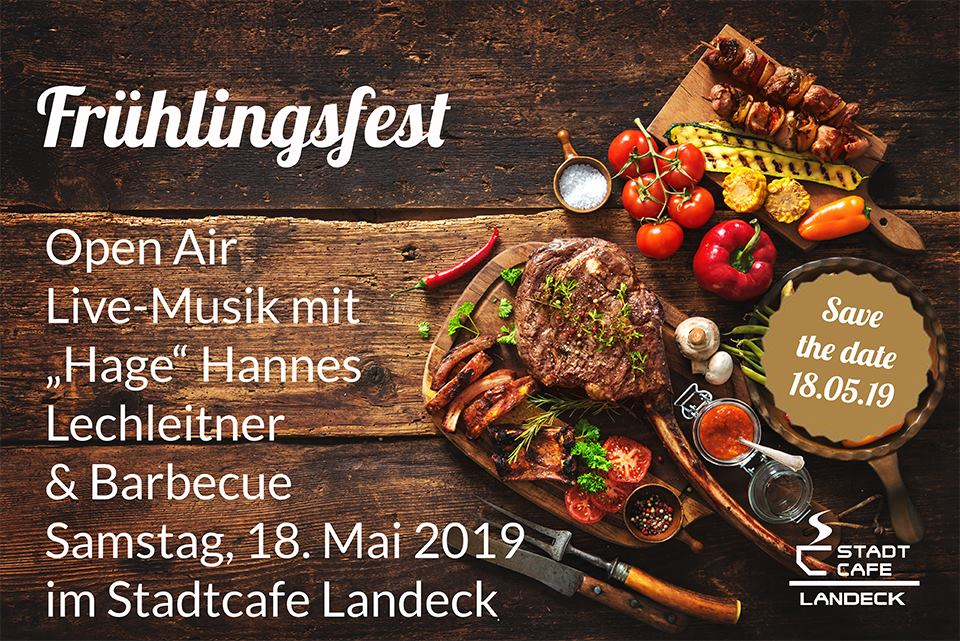 Frühlingsfest im Stadtcafe Landeck