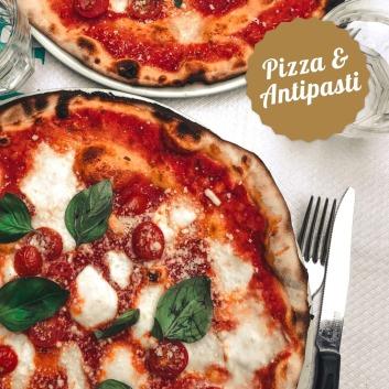 Pizza und Antipasti im Stadtcafe Landeck, Malserstraße 49. Tel. 05442-65080